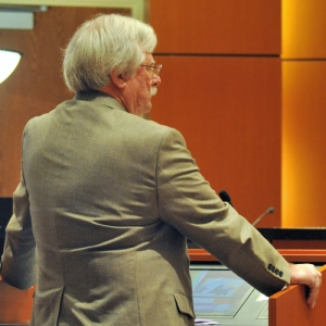 Charlie Wilson, of Impact Fee Consultants, addressed the Indian River County Commission