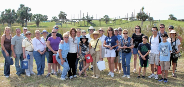 More than 250 people attended Save the Chimps' inaugural Member Day held in January 2012. Members will once again have an opportunity  to tour the sanctuary on January 26.