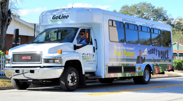 The Indian River County Commission voted 5-0 yesterday to delay until September taking action on extending its agreement with the Senior Resource Association to operate the GoLine bus system.