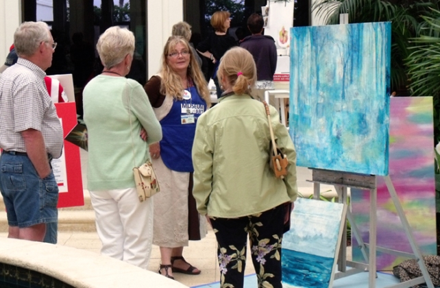 Artist Demonstrations