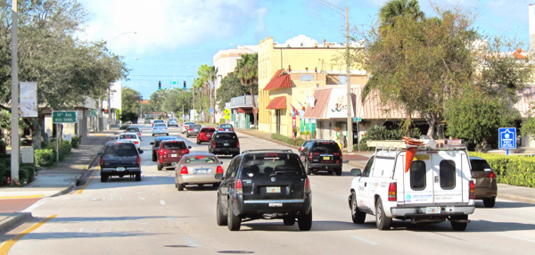 Built in the early 1990s to solve accommodate I-95 traffic that no longer detours through Vero Beach, the Twin Pairs project only served to create what amounts to a superhighway bifurcating the downtown area.