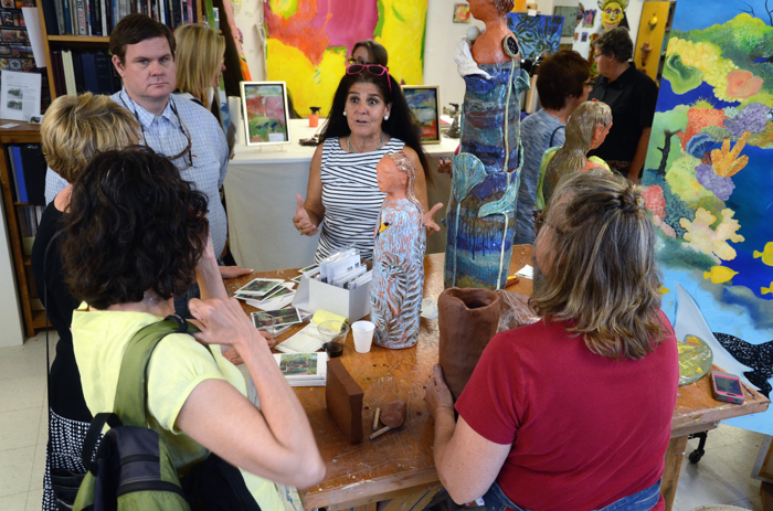 Celebrate the arts kicked off friday evening in downtown - Tiger lily hair salon ...