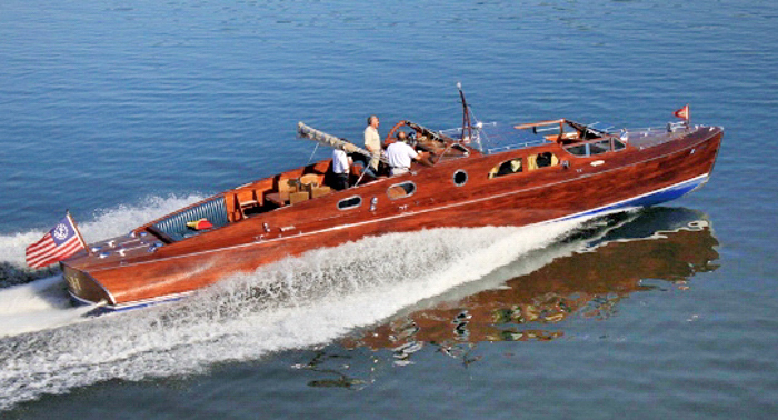 Classic mahogany yacht to be featured at Wheels and Keels ...