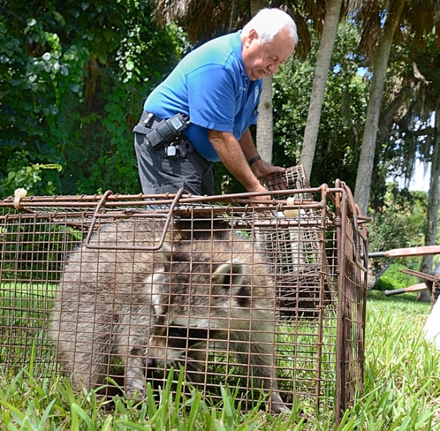 Animal control officer bruce dangerfield who has handled nearly 800