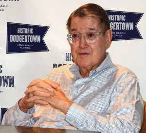 Historic Dodgertown CEO, and former Dodger owner, Peter O'Malley