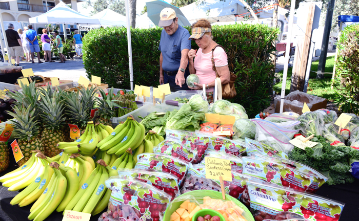 Currently, the Oceanside Business Association sponsors a popular Saturday morning open-air farmer's market on South Ocean Drive.