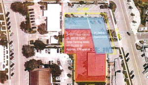 The second and third floors of the proposed project for South Ocean Drive would include 20,000 square feet of retail and additional parking.