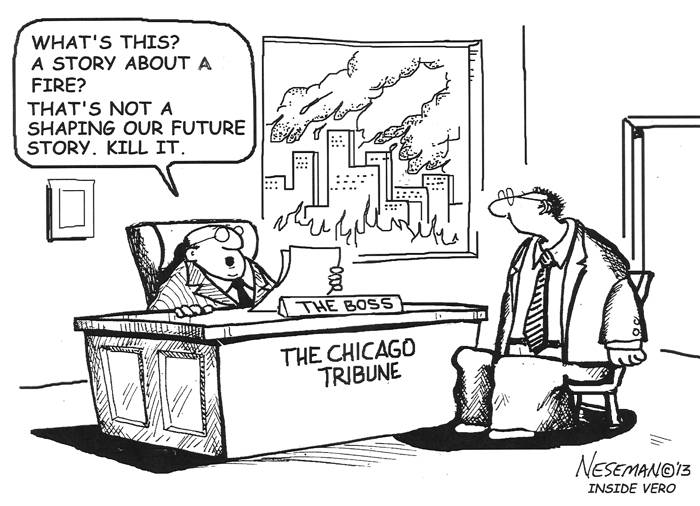 Cartoon: Shaping Our Future