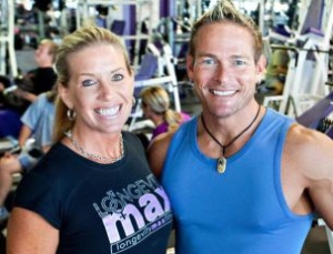 Bonnie and Steve Pfiester, co-owners of Longevity Max Fitness