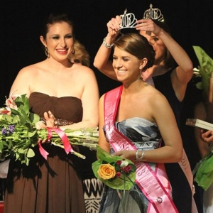 Delaney Cooksey being crowned Miss Hibiscus 2013. PHOTO BY J. SCOTT KELLY