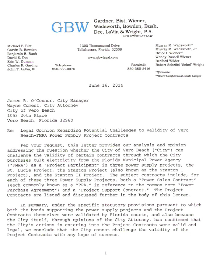 attorney opinion letters city s outside counsel advises against challenge to 5543