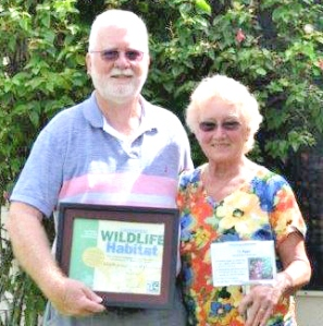 Landscaping Committee Co-Chairs Russ and Marilee Bell