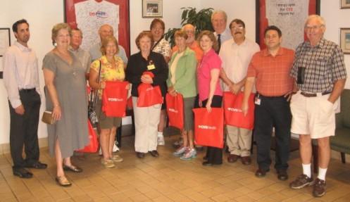 CVS-IRC Chamber tour participants