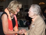 Featured speaker Sally Armstrong with Alma Lee Loy.
