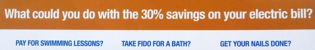 """Though the current rate differential between Vero Electric and FPL is 17 percent, the latest political mailer paid for by the Alliance for Better Florida Communities claimed a """"30% savings"""" would result from a sale to FPL."""