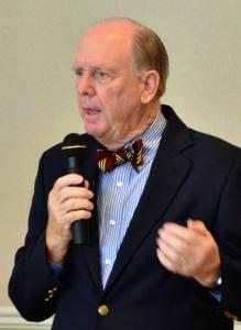 Facing a budget shortfall, Councilman Randy Old is ready to talk taxes.