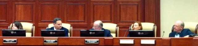 The new Vero Beach City Council: Amelia Graves, Jay Kramer, Richard Winger, Pilar Turner, Randy Old. PHOTO SUPPLIED