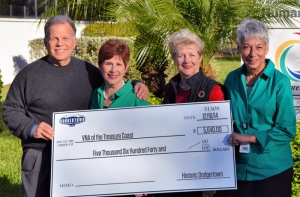 Ford Fegert (Chairman, VNA of the Treasure Coast), Carol Kanarek (Chairman, VNA & Hospice Foundation), Ann Marie McCrystal (Director and Founder), Mary Linn Hamilton (President & CEO, VNA of the Treasure Coast)