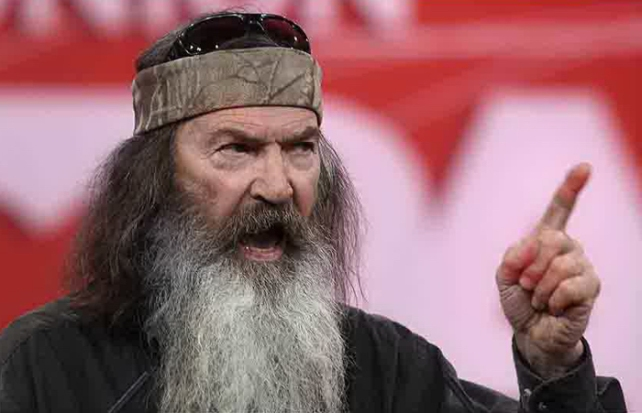 """...Phil Robertson is an ignorant buffoon..."""