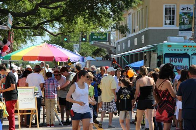 Thousands enjoy the Hibiscus Festival every year in Downtown Vero