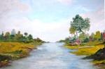 Idyllic Landscape by Rita Sprague