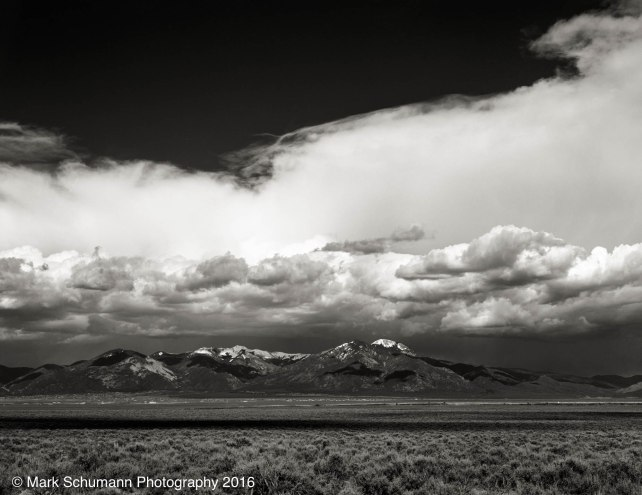 Storm Over Taos Mountain