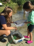 weekend-04-20-2016-dip-netting-sarah-and-little-girl-pond-dip-netting