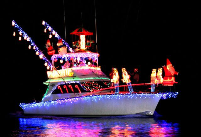 Christmas Boat Parade will be held on Friday, December 2 on the Indian River Lagoon between the Merrill Barber and Alma Lee Loy bridges beginning at 6:30 pm.