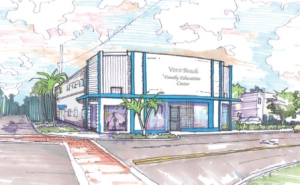 Rendering of renovations planed for Buggy Bunch's newly acquired building located at 1450 21st. Street.
